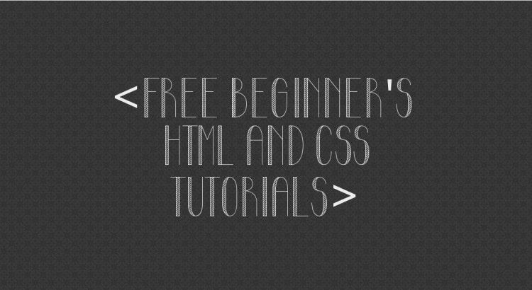 Free HTML and CSS Tutorials Online - Learn Coding From the Free Tutorial Centre
