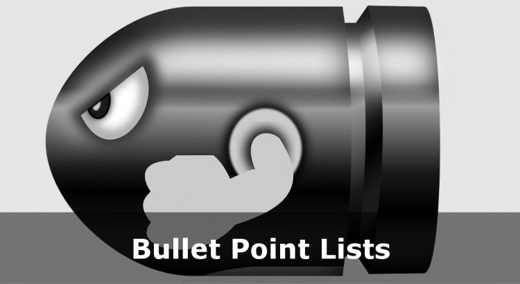 HTML Numbered and Bullet Point Lists Tutorial