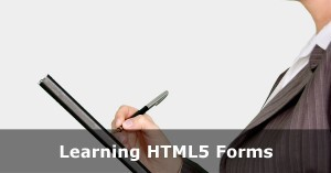 HTML and HTML5 Forms Tutorial