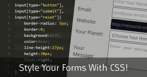 How to Style your HTML Forms with CSS - Tutorial